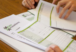 Financial Planning Paperwork
